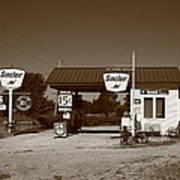 Route 66 Gas Station Art Print