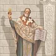 Saint Augustine Art Print by John Alan  Warford