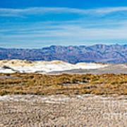 Salt Creek Death Valley National Park Art Print
