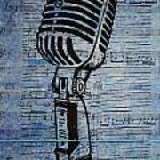 Shure 55s On Music Art Print by William Cauthern