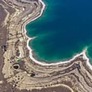 Sinkholes In Northern Dead Sea Area Art Print