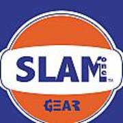 Slam One Gear Art Print by James Eye