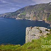 Slieve League Cliffs, Ireland Art Print