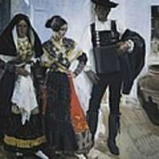 Sorolla, Joaqu�n 1863-1923. People Art Print