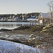 South Bristol On The Coast Of Maine Art Print