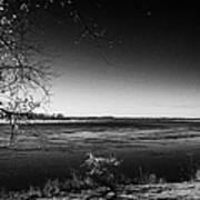 south Saskatchewan river near saskatoon Canada Art Print