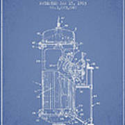 Space Capsule Patent From 1963 Art Print