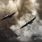 3 Squadron Art Print