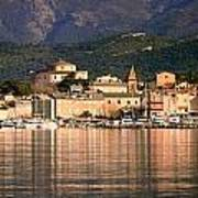 St Florent In Corsica Art Print