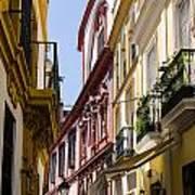 Streets Of Seville - Magic Colours Art Print