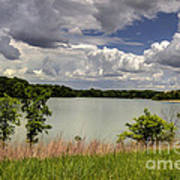3-summer Time At Moraine View State Park Art Print