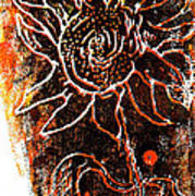 Sunflower  Art Print by Jon Baldwin  Art
