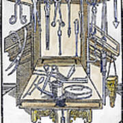 Surgical Instruments Art Print