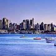 Sydney City Art Print