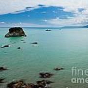 Tasman Sea At West Coast Of South Island Of Nz Art Print