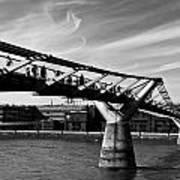 The Millenium Bridge Art Print