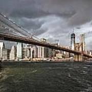 The Storm Over Manhattan Art Print
