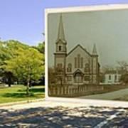 Third Methodist Church On The Commons In Little Compton Rhode Island Art Print