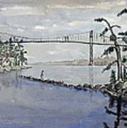 Thousand Islands Bridge Art Print