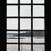 Through An Old Window Art Print