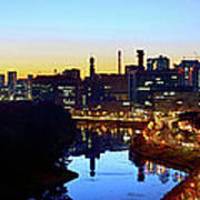 Tokyo Panorama  At Sunrise Art Print