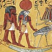 Tomb Of Sennedjem. 1306 -1290 Bc Art Print