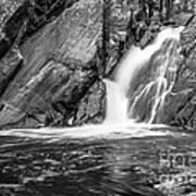 True's Brook Gorge Water Fall Art Print