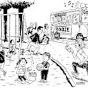 New Yorker July 21st, 2008 Art Print