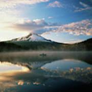 Usa, Oregon, Mount Hood National Art Print