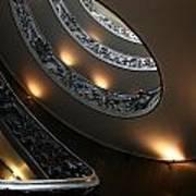Vatican Stairs Art Print