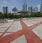 View From Peoples Park, Shanghai Art Print