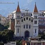 Views Of Messina Italy Art Print