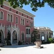 Villa Ephrussi De Rothschild Art Print