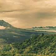 Volcano Batur Art Print by MotHaiBaPhoto Prints