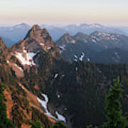 Washington, Cascade Mountains, Mount Art Print