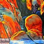 Watson Lake Art Print by Robert Hooper