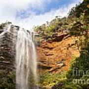 Wentworth Falls Blue Mountains Art Print