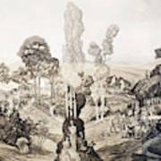 White Sulphur Springs Art Print