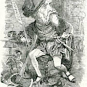 William Harrison Ainsworth  English Art Print