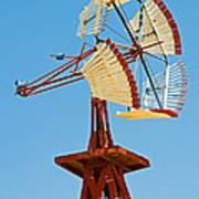 Wind Mills In West Texas Art Print