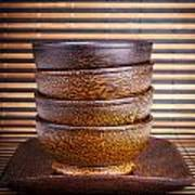 Wooden Bowls Art Print