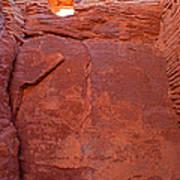 Wupatki Pueblo In Wupatki National Monument Art Print