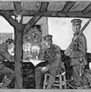 Wwi Soldiers, 1918 Art Print