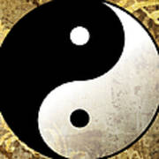 Yin And Yang 4 Art Print
