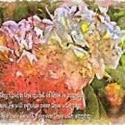 Zephaniah 3 17 Art Print