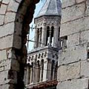 Views Of Split Croatia Art Print