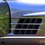 300 Gullwing Mercedes Art Print