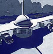 Roadside Of Tomorrow Art Print by Robert Poole
