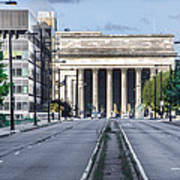 30th Street Station From Jfk Blvd Art Print