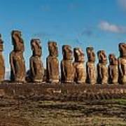 Easter Island Moai Art Print